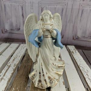 Lenox angel hope first blessing nativity blue cher